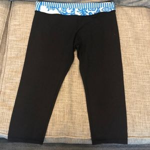 RARE! LuluLemon cropped leggings!